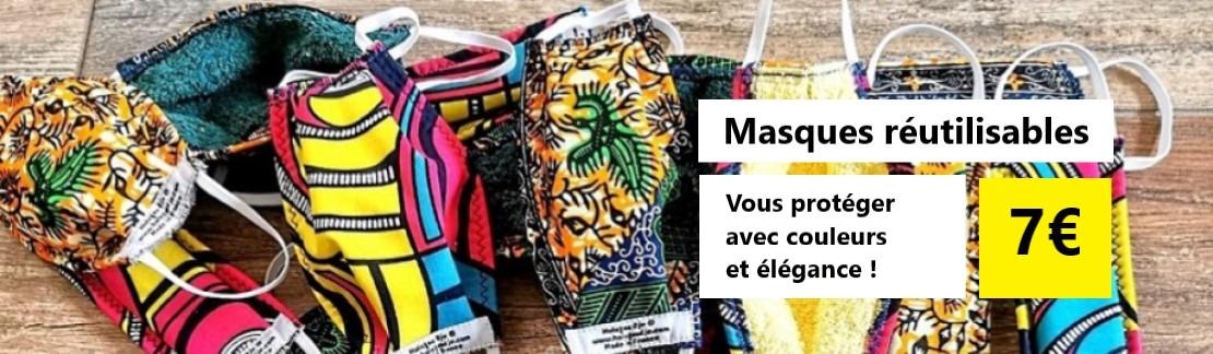 Vente de masques Wax